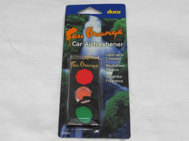 feu orange traffic light air freshener motoring section pigeon watch forums. Black Bedroom Furniture Sets. Home Design Ideas