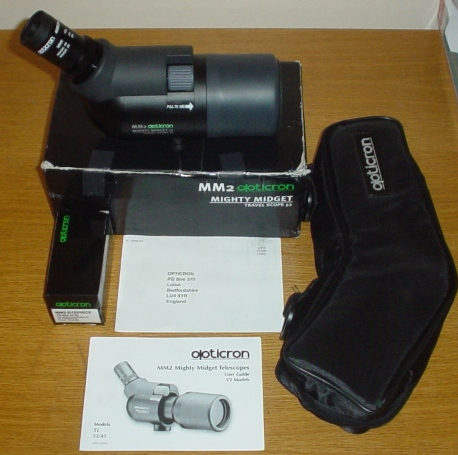 Many thanks Opticron mighty midget
