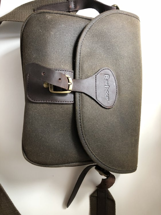 Barbour cartridge bag - Other Sales - Pigeon Watch Forums